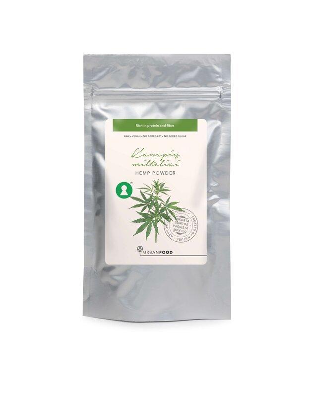 Kanapių sėklų milteliai, 100 g-200 g